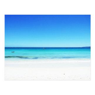 Praias da Austrália Ocidental Cartão Postal