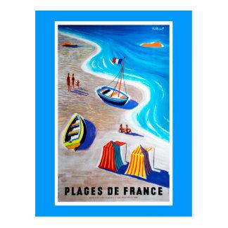 Praias do cartão de France
