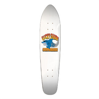 Prancha afortunadas do tubarão - skate