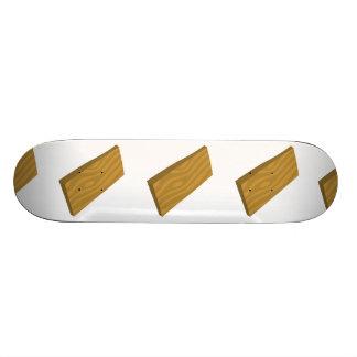 Prancha da comida do pulso aleatório shape de skate 21,6cm