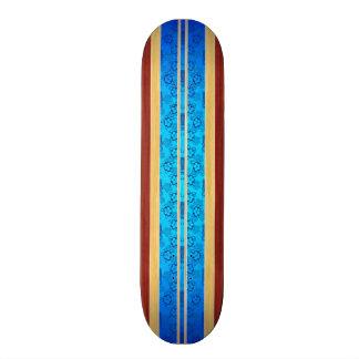 Prancha da madeira do falso de Tiki Hawiian Shape De Skate 20cm