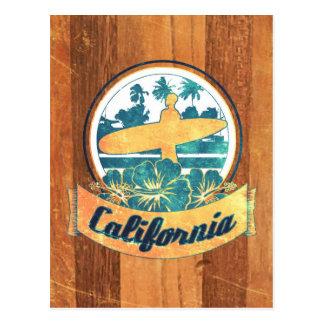 Prancha de Califórnia Cartão Postal