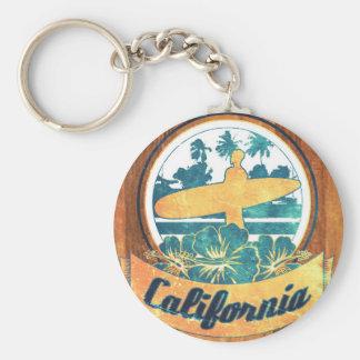 Prancha de Califórnia Chaveiro