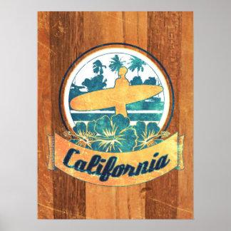 Prancha de Califórnia Poster