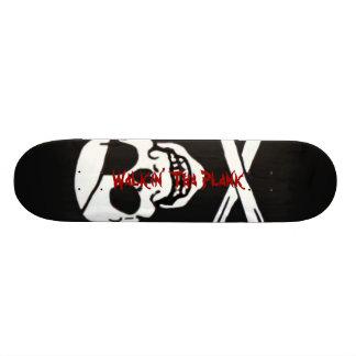 Prancha de Walkin Tha Shape De Skate 21,6cm
