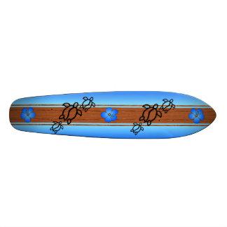 Prancha retro de Honu Shape De Skate 20,6cm