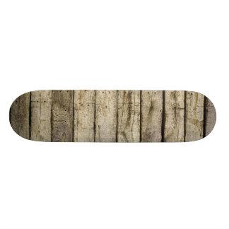 Pranchas de madeira ásperas shape de skate 18,7cm