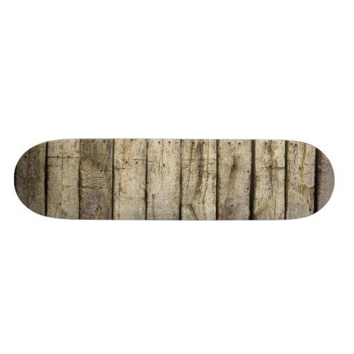 Pranchas de madeira ásperas skate