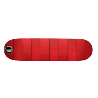 Pranchas irregulares vermelhas shape de skate 18,1cm