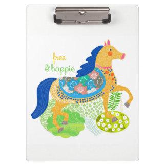 Prancheta azul do cavalo pelo design de Orte da