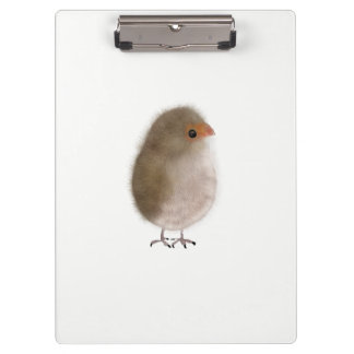 Prancheta bonito da ilustração do pássaro pela