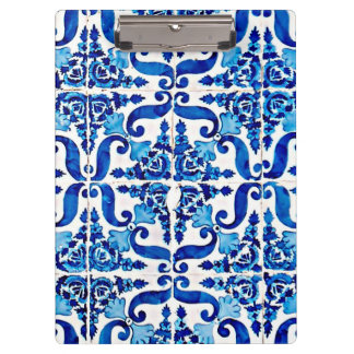 Prancheta de Azulejo do português