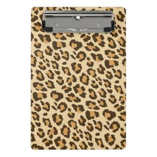 Prancheta do impressão do leopardo mini