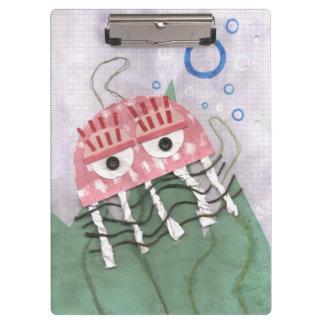 Prancheta do pente das medusa