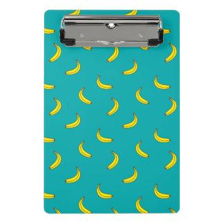 Prancheta do teste padrão da banana mini
