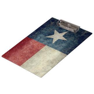 Prancheta retro do estilo do vintage da bandeira