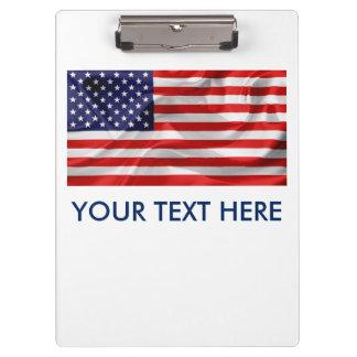 Pranchetas A bandeira dos Estados Unidos da América