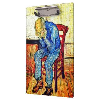Pranchetas Ancião Sorrowing por Van Gogh