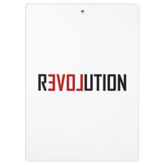 Pranchetas Arte do amor da revolução