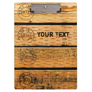 Pranchetas As pranchas de madeira personalizadas carimbaram w