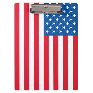 Pranchetas Bandeira dos Estados Unidos da bandeira dos EUA