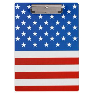 Pranchetas Bandeira nacional de Estados Unidos