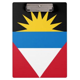 Pranchetas Bandeira patriótica de Antígua e de Barbuda