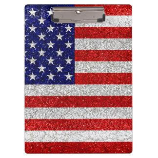 Pranchetas Bandeira suja dos EUA
