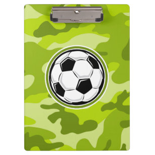 8900240e2f Pranchetas Bola de futebol  camo verde-claro