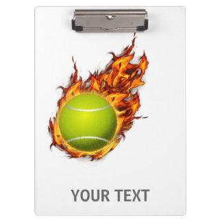 Pranchetas Bola de tênis personalizada no presente do tema do