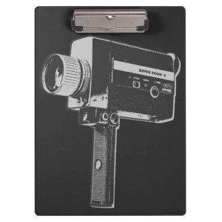 Pranchetas Câmera de filme 8 super do pop art