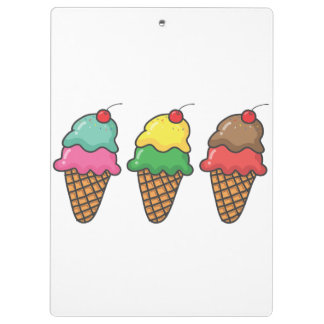 Pranchetas Carpeta Ice Cream