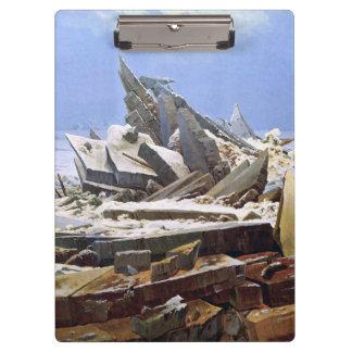 Pranchetas CASPAR DAVID FRIEDRICH - o mar do gelo 1824
