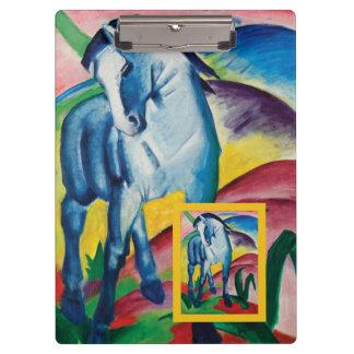 Pranchetas Cavalo azul mim por Franz Marc