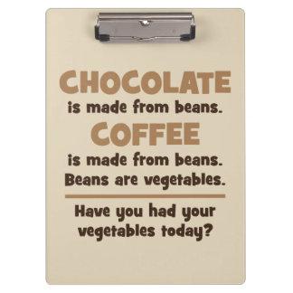 Pranchetas Chocolate, café, feijões, vegetais - novidade