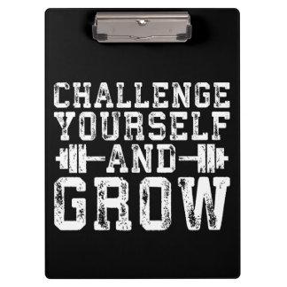 Pranchetas Desafie-se e cresça-se - inspirado