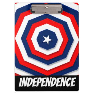 Pranchetas Design da bandeira de América