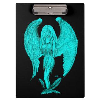 Pranchetas Design do anjo, do preto e do verde