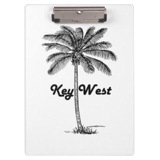 Pranchetas Design preto e branco de Key West Florida & da
