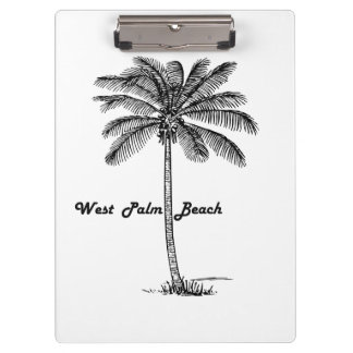 Pranchetas Design preto e branco de West Palm Beach & de