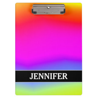 Pranchetas Divertimento colorido Arco-íris-Como o teste