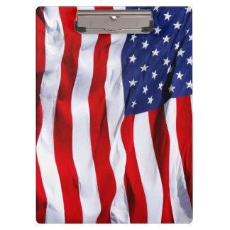 Pranchetas Estrelas e listra de bandeira americana
