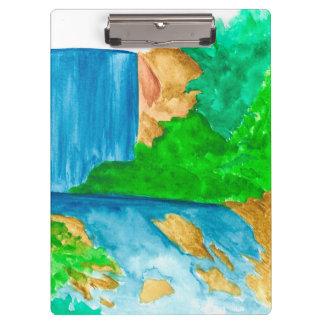 Pranchetas Excesso da cachoeira