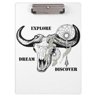 Pranchetas Explore o sonho descobrem