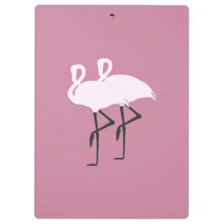 Pranchetas Flamingo cor-de-rosa
