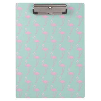 Pranchetas Flamingo cor-de-rosa no teste padrão sem emenda da