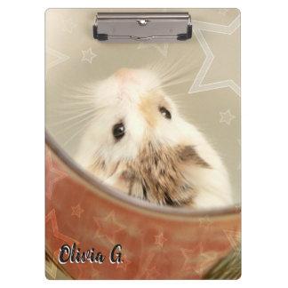 Pranchetas Hammyville - hamster bonito