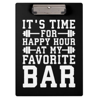 Pranchetas Happy hour em meu bar favorito - Gym inspirado