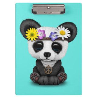 Pranchetas Hippie bonito da panda do bebê