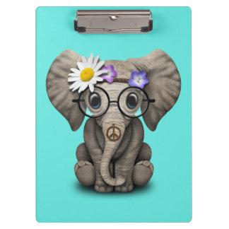 Pranchetas Hippie bonito do elefante do bebê